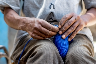 """""""But it breaks my heart thinking that while I have a respectable craft and skill, I am unable to make an honest living. All I want to do is work to better myself and society."""" """"የተከበረ ሙያና ጥበብ እያለኝ በዚያ መስራት አለመቻሌ ሁሌ ልቤን ይሰብረዋል፡፡ ሰርቼ ለራሴና ለሌሎች መትረፍ ነው የምፈልገው፡፡"""""""