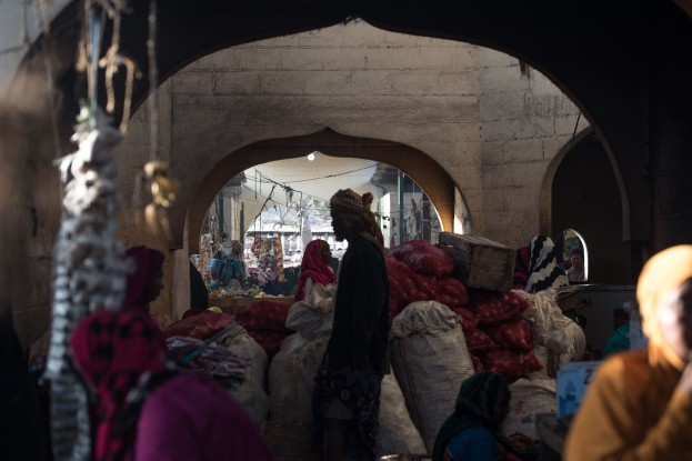 A scene in Berbera's Turkish-built covered market. (© Jason Patinkin / The Messenger)