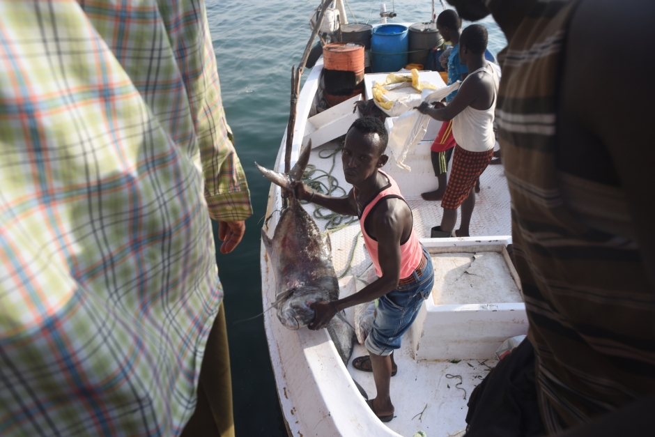 Fishermen in Berbera