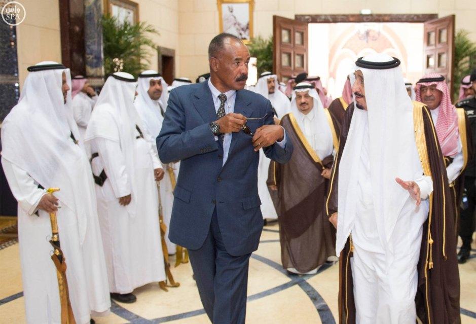 Isaias Afwerki in Saudi Arabia