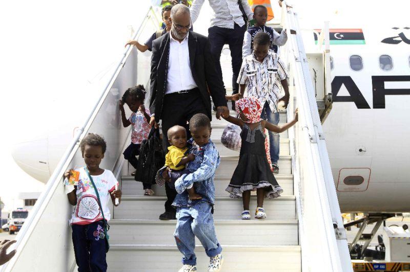 Sudan Libya children